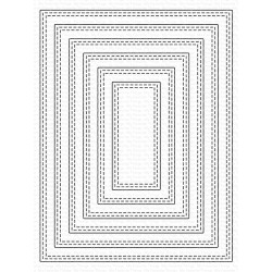 MFT A2 DOUBLE STITCHED RECTANGLE STAX DIES