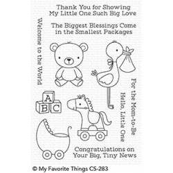 My favorite Things :HELLO LITTLE ONE clear stamps