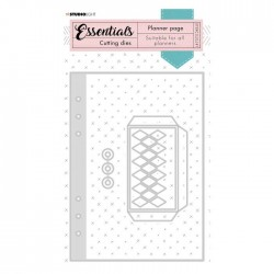 Studio Light • Essentials cutting die planner Nr.347