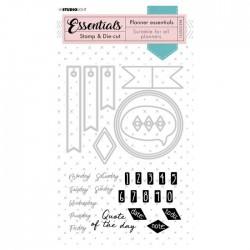 Studio Light • Essentials stamp & die-cut planner Nr.51
