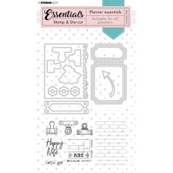 Studio Light • Essentials stamp & die-cut planner Nr.52