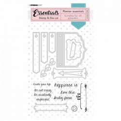 Studio Light • Essentials stamp & die-cut planner Nr.53