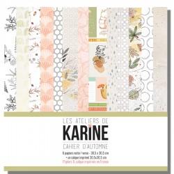 """LES ATELIERS DE KARINE """"CAHIER D'AUTOMNE"""" COLLECTION PACK"""