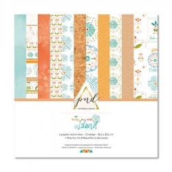 """PaperNova DESIGN COLLECTION """"TRIP TO THE ISLAND"""" 30,5 x 30,5 cm"""