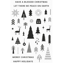 MFT CLEAR STAMPS ICONIC CHRISTMAS