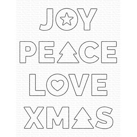 MFT DIES JOY PEACE LOVE