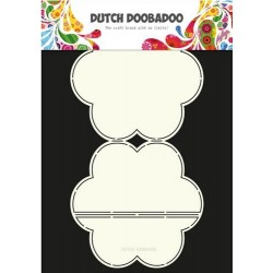 DUTCH DOOBADOO CARD ART EASEL FLOWER
