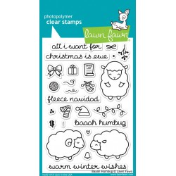 LAWN FAWN CLEAR STAMPS BAAH HUMBUG