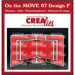 Crealies ON THE MOVE - BOOK CARD