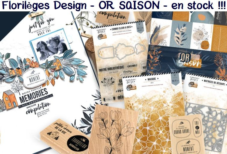 FLORILEGES DESIGN OR SAISON